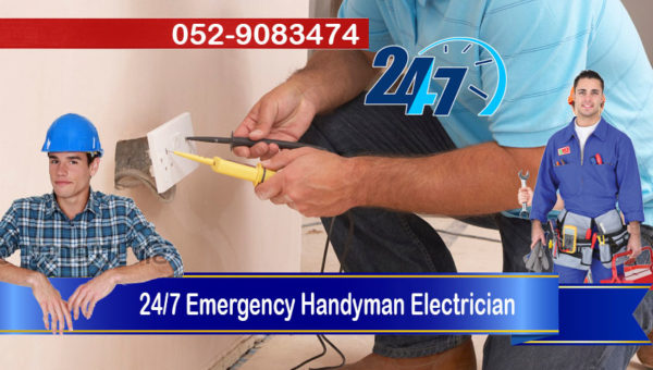24 7 emergency handyman electrician services dubai