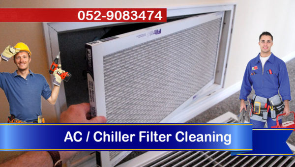 handyman ac chiller filter cleaning