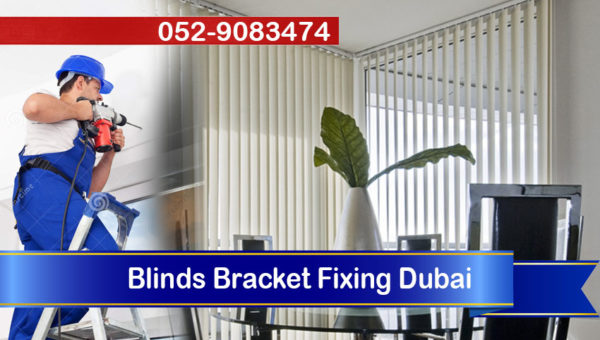 handyman blinds fixing brackets dubai