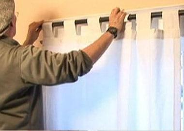 handyman curtain fixing