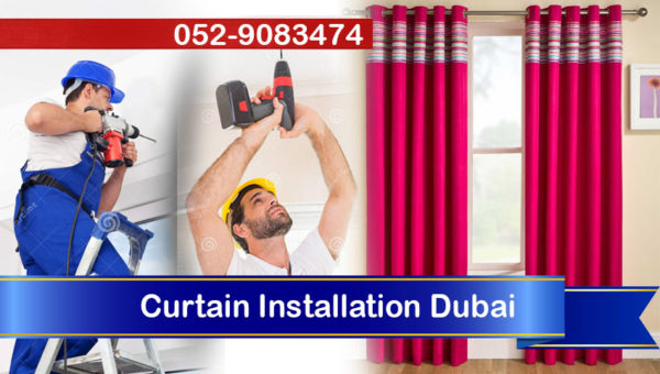 handyman curtain installation dubai