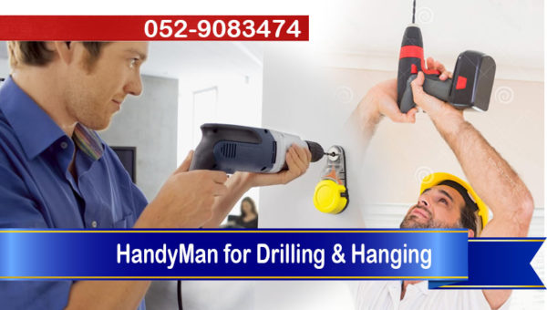 handyman drilling hanging work dubai
