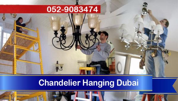 handyman electrician chandelier hanging dubai