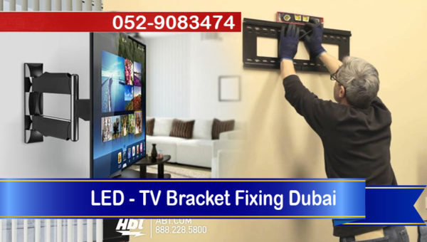 handyman lcd led tv bracket fixing dubai