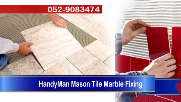handyman mason tilling marble work