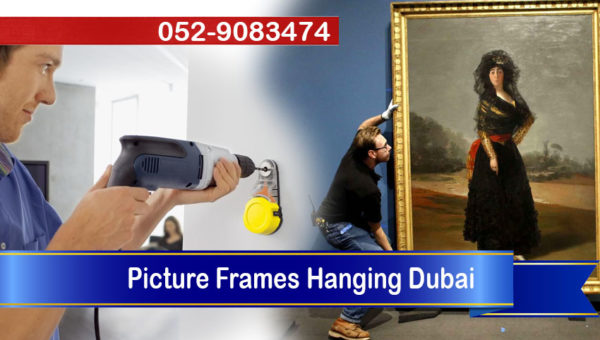 handyman picture frames hanging dubai