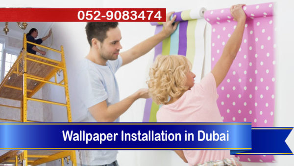 handyman wallpaper fixing dubai