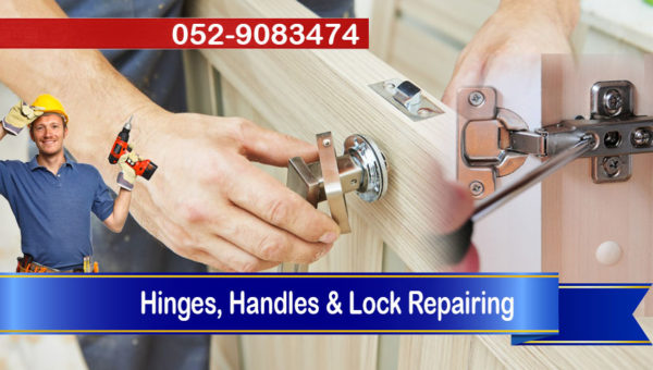 hinges handles lock repair